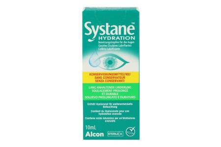 Systane Hydration 10 ml Augentropfen ohne Konservierungsstoffe von Alcon |