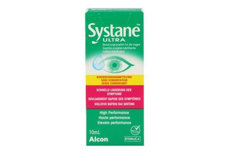 Systane Ultra 10 ml Augentropfen ohne Konservierungsstoffe von Alcon |