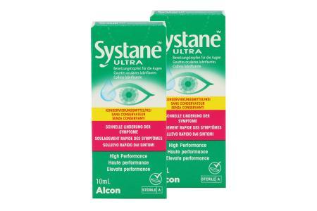 Systane Ultra 2 x 10 ml Augentropfen ohne Konservierungsstoffe von Alcon |