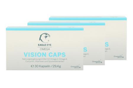 Eagle Eye Omega Vision Caps 3 x 30 Kapseln Nahrungsergänzung |