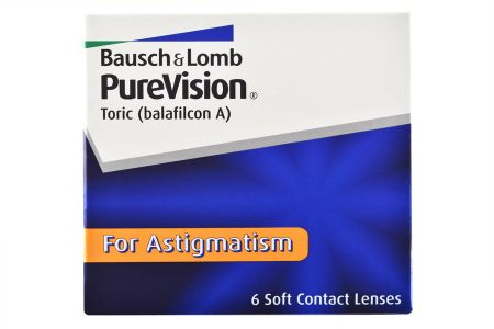 Pure Vision Toric, 6 Stück Kontaktlinsen von Bausch & Lomb