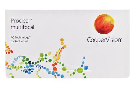 Proclear Multifocal, 6 Stück Kontaktlinsen von Cooper Vision