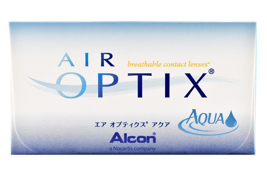 Image of Air Optix Aqua, 6 Stück Kontaktlinsen von Ciba Vision
