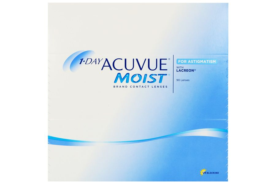 1 day acuvue moist for astigmatism 90 st ck linsen. Black Bedroom Furniture Sets. Home Design Ideas