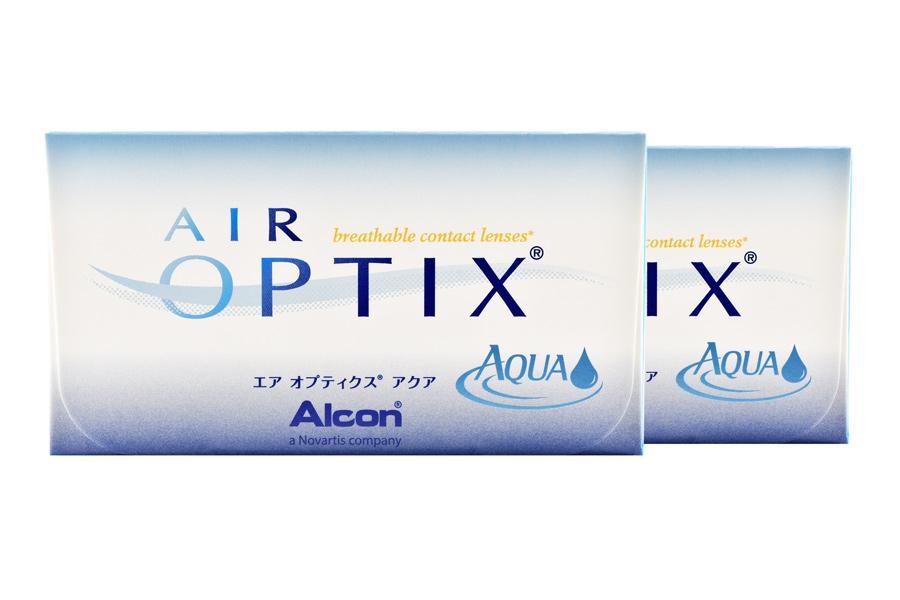 Image of Air Optix Aqua, 2 x 6 Stück Kontaktlinsen von Ciba Vision