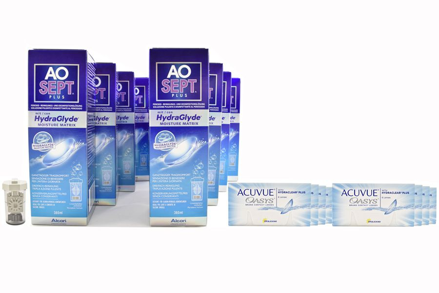 sparpaket acuvue oasys aosept plus hydraglyde. Black Bedroom Furniture Sets. Home Design Ideas