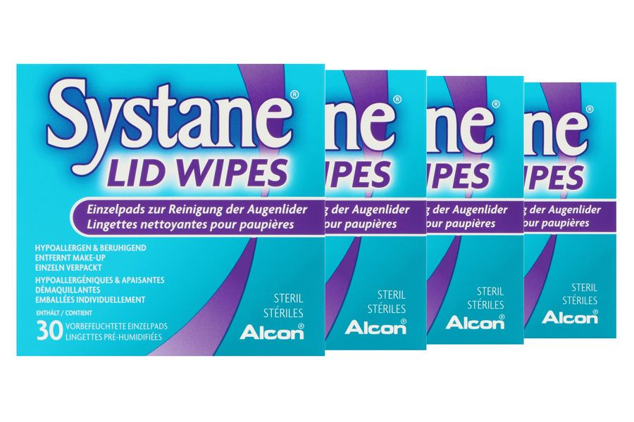 how to use systane lid wipes