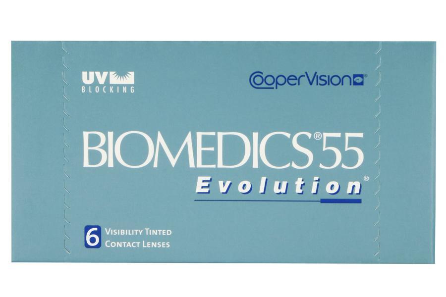 biomedics 55 6 st ck kontaktlinsen von cooper. Black Bedroom Furniture Sets. Home Design Ideas