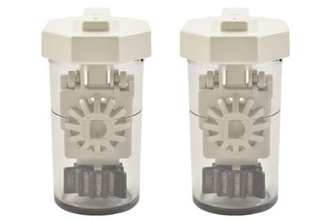 Image of 2 Behälter für Aosept Plus / Aosept Plus HydraGlyde
