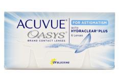 Acuvue Oasys for Astigmatism, 6 Stück Kontaktlinsen von Johnson & Johnson