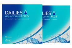 Dailies AquaComfort Plus Kontaktlinsen von Ciba Vision / Alcon, Sparpaket 3 Monate 2x90 Stück