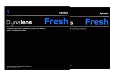 Dynalens 1 Fresh Kontaktlinsen von Dynoptic, Sparpaket 3 Monate 2 x 90 Stück