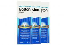 Boston Advance Linsenreiniger 3x30ml