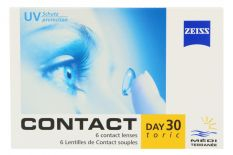Zeiss Contact Day 30 toric 6 Monatslinsen