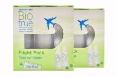 Biotrue 2 x Flight-Pack Doppelpack All-in-One Lösung