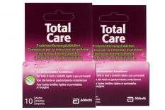 Total Care 2 x 10 Proteinentfernungs-Tabletten