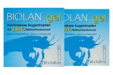 Biolan gel 2x 20x0.35ml Augentropfen