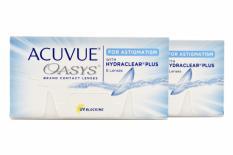 Acuvue Oasys for Astigmatism, 2 x 6 Stück Kontaktlinsen von Johnson & Johnson