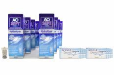 Acuvue Oasys for Astigmatism Kontaktlinsen von Johnson & Johnson + AoSept Plus HydraGlyde, Jahres-Sparpaket