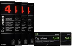 Dynalens 30 SiH Kontaktlinsen von Dynoptic & Dynaeasy 4, Halbjahres-Sparpaket