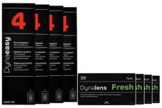 Dynalens Fresh Toric 4x3 Monatslinsen + Dynaeasy 4 Halbjahres-Sparpaket