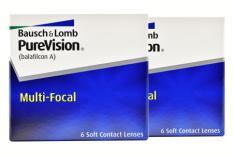 Pure Vision Multifocal, 2 x 6 Stück Kontaktlinsen von Bausch & Lomb