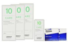 Halbjahres-Sparpaket, Pure Vision Multifocal Kontaktlinsen von Bausch & Lomb + Lensy Care 10