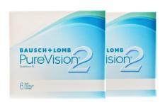 Pure Vision 2 HD, 2 x 6 Stück Kontaktlinsen von Bausch & Lomb