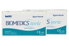 Biomedics Toric, 2 x 6 Stück Kontaktlinsen von Cooper Vision