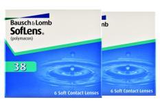 SofLens 38, 2 x 6 Stück Kontaktlinsen von Bausch & Lomb