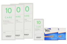 SofLens 66 Toric Kontaktlinsen von Bausch&Lomb & Lensy Care 10, Halbjahres-Sparpaket