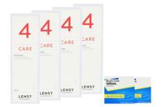 SofLens Multifokal Kontaktlinsen von Bausch&Lomb & Lensy Care 4, Halbjahres-Sparpaket
