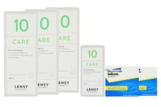 SofLens Multifokal Kontaktlinsen von Bausch&Lomb & Lensy Care 10, Halbjahres-Sparpaket