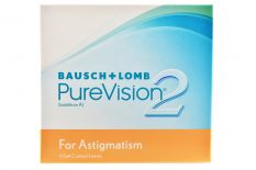 Pure Vision 2 HD For Astigmatism 6 Monatslinsen