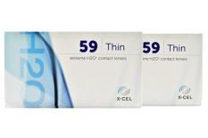 Extreme H2O 59 Thin, 2 x 6 Stück Kontaktlinsen von Hydrogel Vision Corp.