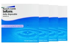 SofLens daily disposable 4 x 90 Tageslinsen Sparpaket 6 Monate
