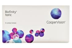 Biofinity toric, 6 Stück Kontaktlinsen von Cooper Vision
