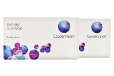 Biofinity multifocal, 2 x 6 Stück Kontaktlinsen von Cooper Vision