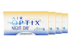 Air Optix Night & Day Aqua, 4 x 6 Stück Kontaktlinsen von Ciba Vision