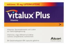 Vitalux Plus 84 Kapseln Nahrungsergänzung