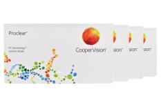 Proclear, 4 x 6 Stück Kontaktlinsen von Cooper Vision