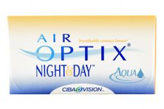 Air Optix Night & Day Aqua, 6 Stück Kontaktlinsen von Ciba Vision