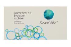 Biomedics 55, 6 Stück Kontaktlinsen von Cooper Vision