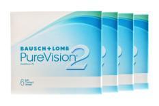 Pure Vision 2 HD, 4 x 6 Stück Kontaktlinsen von Bausch & Lomb