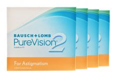 Pure Vision 2 HD For Astigmatism 4 x 6 Monatslinsen