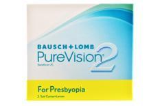 Pure Vision 2 For Presbyopia, 3 Stück Kontaktlinsen von Bausch & Lomb