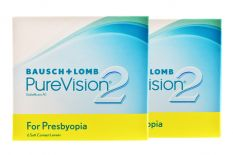 Pure Vision 2 For Presbyopia, 2 x 6 Stück Kontaktlinsen von Bausch & Lomb