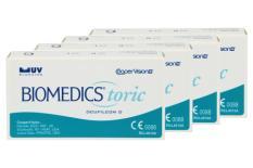 Biomedics Toric, 4 x 6 Stück Kontaktlinsen von Cooper Vision