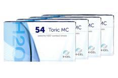 Extreme H2O 54 Toric MC, 4 x 6 Stück Kontaktlinsen von Hydrogel Vision Corp.