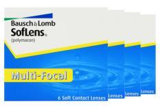 SofLens Multifokal, 4 x 6 Stück Kontaktlinsen von Bausch & Lomb
